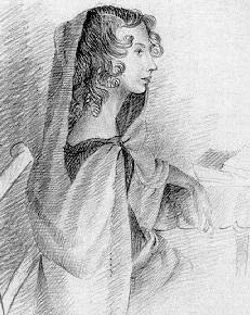 Anne Bronte drawing
