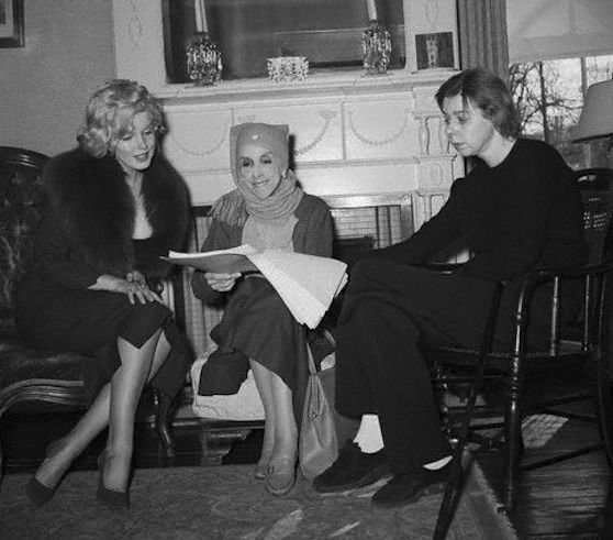 Marilyn Monroe, Isak Dinesen, and Carson McCullers
