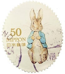 Beatrix potter stamp Japan