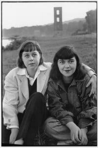Carson McCullers and friend