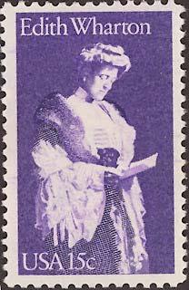 Edith Wharton Stamp
