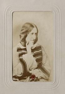 George Eliot ca 1865
