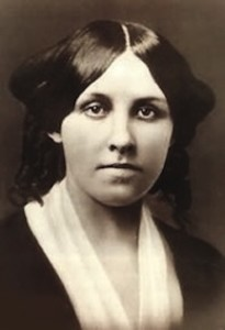Louisa May Alcott young