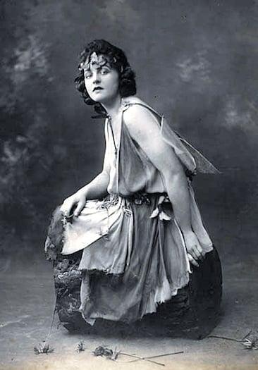 P.L. Travers as Titania 1924