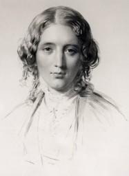 Harriet Beecher Stowe 1855 portrait by Francis Holl