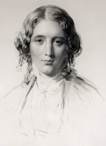 Harriet Beecher Stowe 1855 portrait by Francis Holl