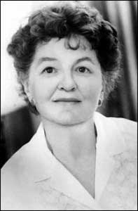 P.L. Travers, author of Mary Poppins