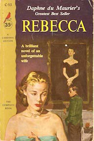 rebecca by daphne dumaurier vintage cover