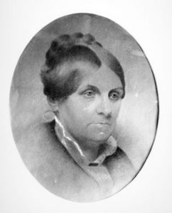 Drawing of Abigail May Alcott