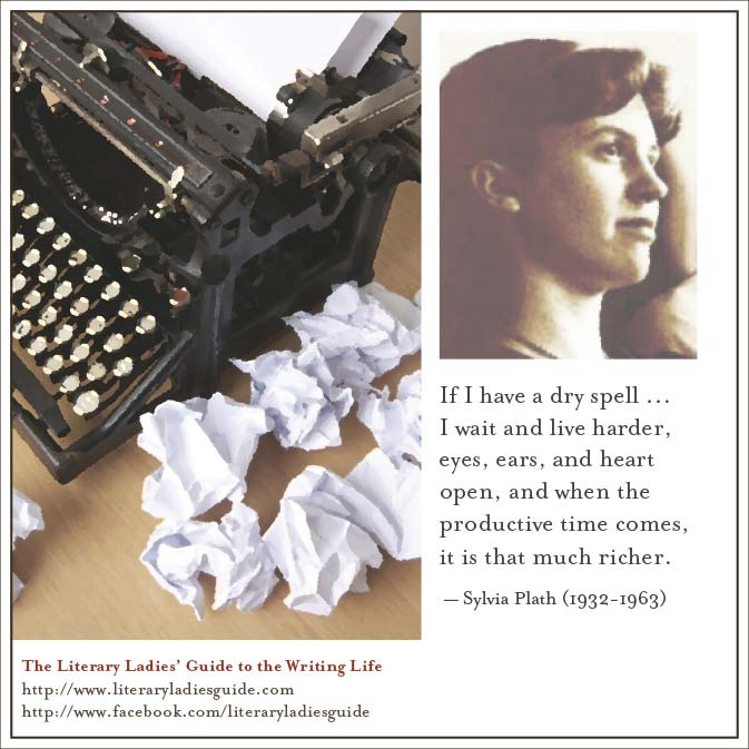 Sylvia plath on writer's block