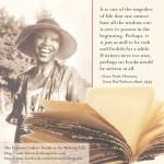 Zora Neale Hurston: If writers were too wise …