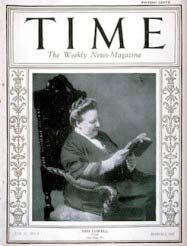 Amy Lowell, Time magazine cover 1925