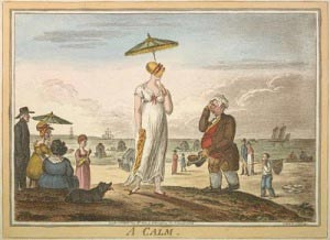 regency painting with fashion