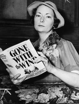 margaret mitchell with Gone With the Wind