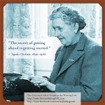 Agatha Christie: The secret of getting ahead is getting started