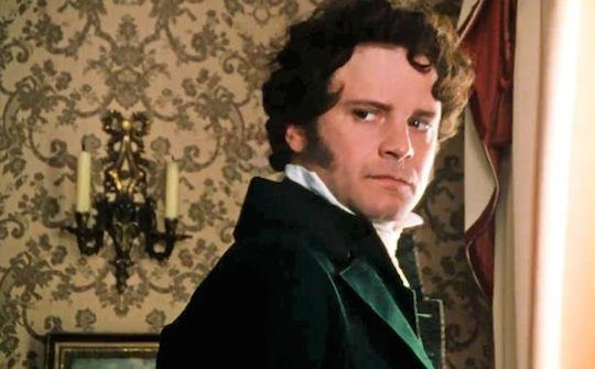 Colin Firth as Mr. Darcy in Pride and Prejudice