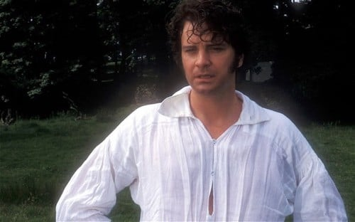 Mr. Darcy Wet Shirt Scene with Colin Firth