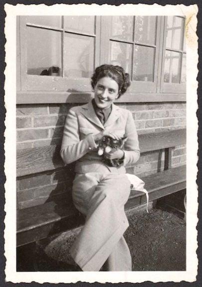 May Sarton as a young woman