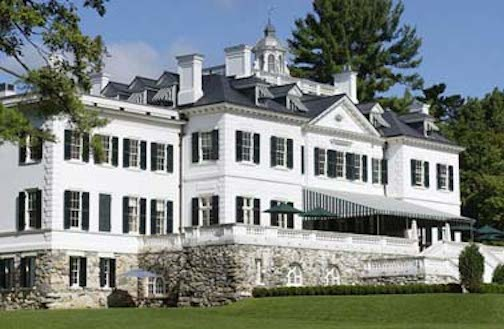 Edith Wharton's home, the Mount (Lenox, MA)