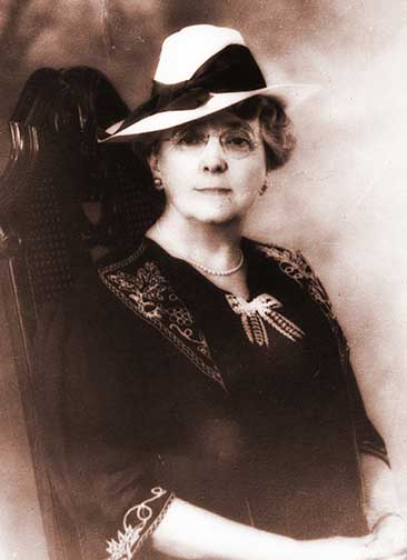 L.M. Montgomery-age 61 -1935