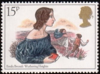 Emily Bronte stamp