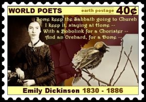 Emily Dickinson stamp US