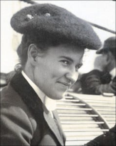 Willa Cather as a young woman