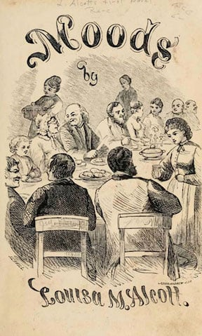 Moods (1864) by Louisa May Alcott illustration