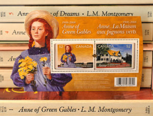 Anne of Green Gables postage stamps - Canada