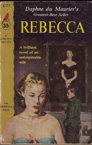 Rebecca by Daphne du Maurier vintage cover