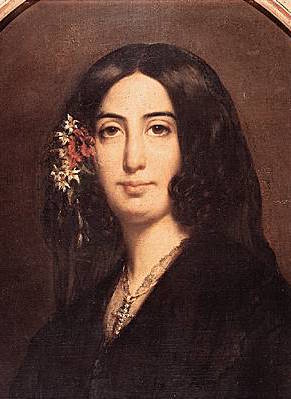 George Sand young