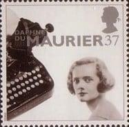 Daphne du Maurier postage stamp