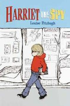 Harriet the Spy cover by Louise Fitzhugh