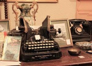 Daphne du Maurier's typewriter