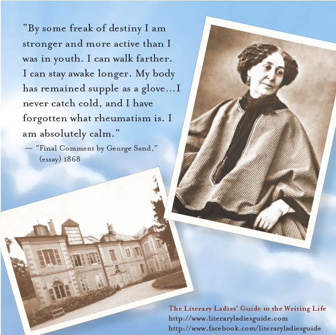 George Sand quote on youth and age