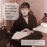 Dorothy Parker: On Endlessly Revising
