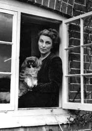 Rumer godden in window