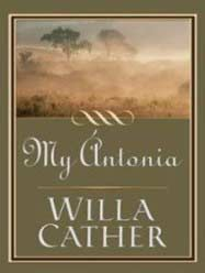 My Antonia by Willa Cather - cover