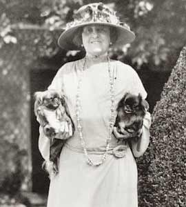 Edith wharton and pekingese