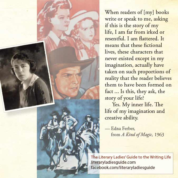 Edna ferber quote on imagination and inner life