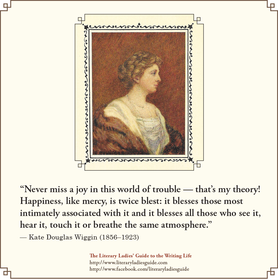 Kate Douglas Wiggin quote