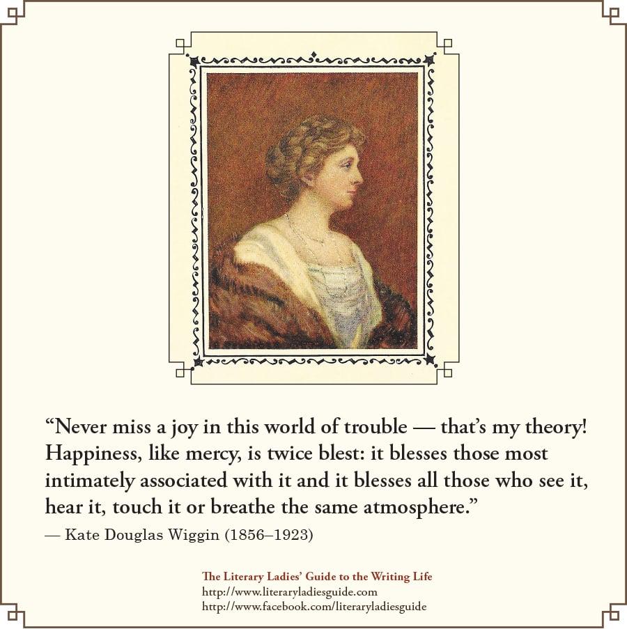 Kate Douglas Wiggin quote