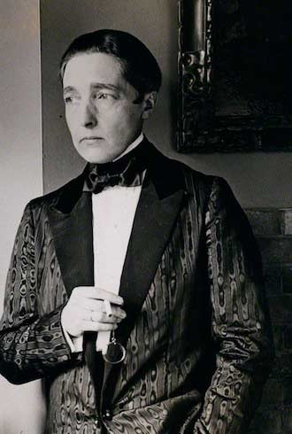 Radclyffe Hall in a tux
