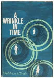 A Wrinkle In Time by Madeleine L'Engle original cover
