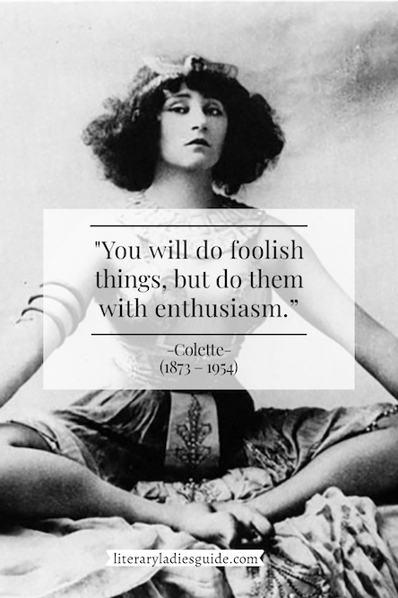 colette quote on foolish mistakes