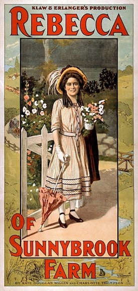 Rebecca of Sunnybrook Farm theater poster 1911