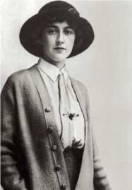 Agatha Christie young