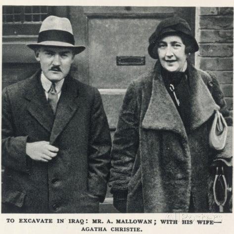 Agatha Christie and Max Mallowan