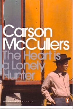 The heart is a lonely hunter by Carson McCullers cover