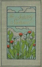 The solitary summer by Elizabeth von Arnim (1899) - cover